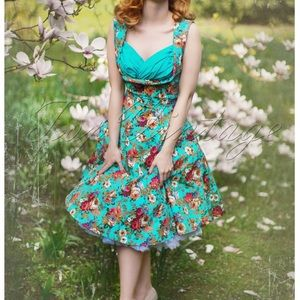 Lindy Bop Floral Spring Garden Party Swing 👗